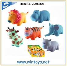 7 inches forest set 3d pvc cartoon toys plastic cartoon animal toys