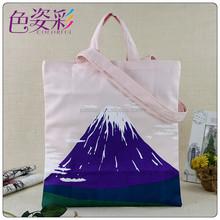 2015 New Eco Cotton Canvas Tote Bags Custom Canvas Shopping Bag Beach cross body bags