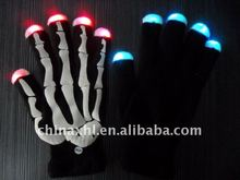 flashing gloves for Halloween