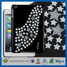 C&T Bling glitter stars New pc mobile phone case for ipadpro