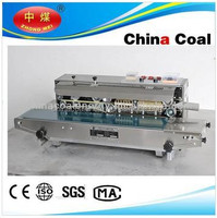 Electric Driven Type and Sealing Machine Type Heating type plastic film sealing machine(continuous band sealer )