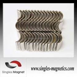 Alibaba gold supplier supply arc magnet magnetic / permanent magnet motors for sales