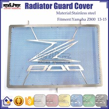 BJ-RG-KA003 Radiator Grille Guard Cover Protector Kawasaki Motorcycle Z800 13-15