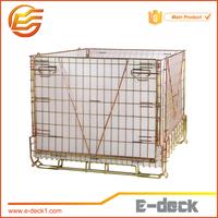 E-DECK Warehouse Storage Euro Wire Mesh Steel Pallet Cage
