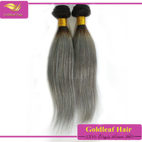 Best selling products Brazilian hair grey human hair extensions grey hairpieces