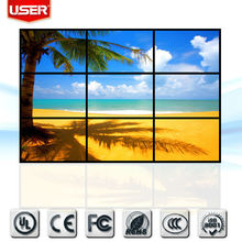 Best Selling 46 Inch 3x3 Original DID LCD Video Wall Seamless Full HD 6.7 mm Bezel LCD Tv Wall/LCD Advertising Display Wall 2015
