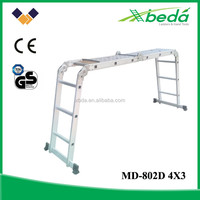 multi-purpose step folding aluminum scaffolding for sale (MD-802D 4x3)