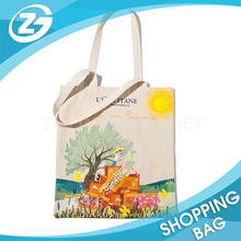 Promotional New Design Custom woman Cotton Shopping Bag