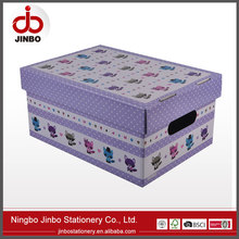 Fashion design Gift packing Paper Storage Box & organizer/archive boxes