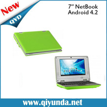 QYD 7 inch Mini Dual core Netbook with Slot VIA8880 512,4GB android 4.2 Mini laptop