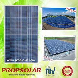 Hot sale solar panels 250 watt and batteries with full certificate TUV CE ISO INMETRO