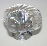 Ceramic Kitchen Cabinet Knobs Clear Crystal Seashell Kids Furniture Bedroom Dresser Drawer Pulls