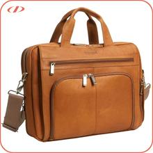 Designer men quality leather laptop bag