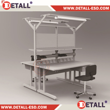 Double sided ESD desk with anti static special function for different industrial lab