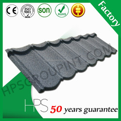 High quality sand coated metal roofing tiles/steel metal roof tile