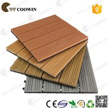 High quality hot sell wpc outdoor decking tile porch