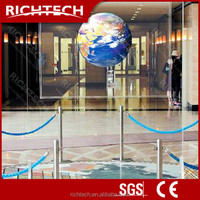 BEST quality 3d holographic rear projection film black projection screen fabric