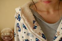 печатные Толстовки спортивный костюм женщины Сен женской линии под японский для управления овцы баранина шляпа свитер пальто