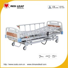 OST-E302F Central Control Castor 3-Function Electric & Manual Bed