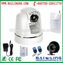 3G security home office 3g gsm video camera security SMS alarm SYSTEM (BL-E800)