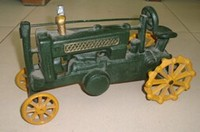 """Vintage Looking Antique 9"""" Handcrafted vehicle Car Model"""