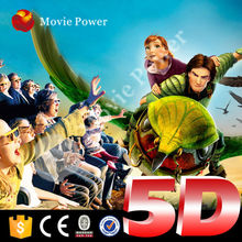 Indoor and outdoor playground truck mobile 5d theater children like game machine