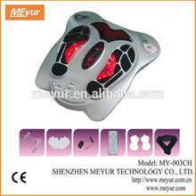 Máquina MEYUR eléctrica de Reflexología masaje infrarrojo lejano / masajeador de pies