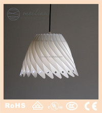 palstic shade and lamp covers for pendant lamp parts