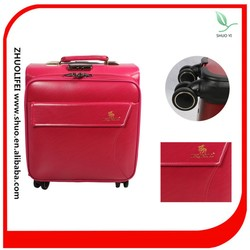 Best travel business carry-on leather colorful luggage