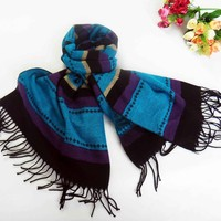 2015 HOT OEM The new imitation cashmere color matching classic scarf Air conditioning shawls