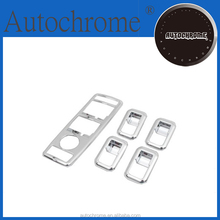 Chrome trim accessory styling accent, chrome side window panel switch decorate trim styling for Mercedes Benz W204 C Class 08 1