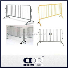 2015 new products Galvanized stainless steel mesh fence Crowd Control Barriers