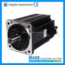 Low noise and less vibration brushless servo motor with competitive price