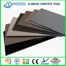 wall decoration 4mm acp aluminum plastic composite panel
