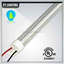 Top wholesaler in Shenzhen UL DLC external driver 4ft tube LED cooler door lights