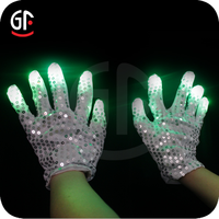 2015 Magical product White Gloves Glow In The Dark