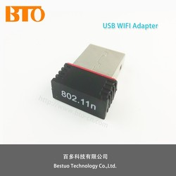 150mbps mini usb wifi adapter lan to wireless adapter LAN 802.11b/g/n