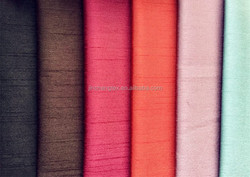 polyester monofilament slub dyed fabric for curtain/imitated silk fabric