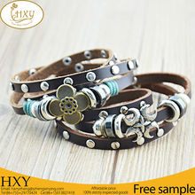 Hot Sale Top Quality Best Price Leather Bracelet For Yong People