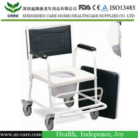 Ergonomics design shower commode chair