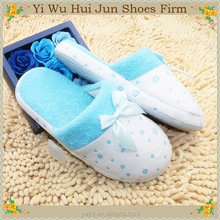 Bedroom Slippers With Heels Soft Sole Slippers Terry Cotton