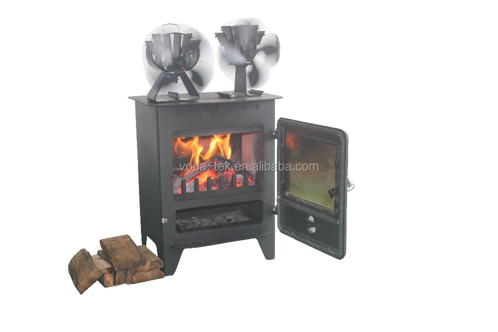how to make fan for top of wood stove