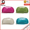 Option Color Patent Leather Cosmetic Pouch Zippered Phone Bag Coin Bag