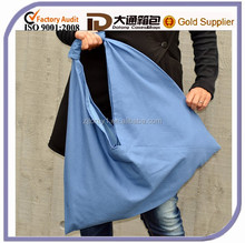 Wholesale Durable Canvas Cotton Fabric Storage Shopping Tote Handbag Shoulder Bag