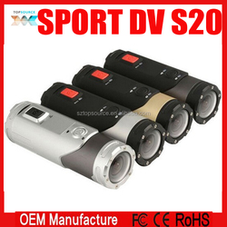 Professional Full HD 1080P H160 Outdoor HD Mini DV S20 with Wifi Waterproof Sport Digital Camera