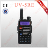 professional hot sale tri LCD color display walkie talkies BAOFENG UV-5RE wireless outdoor VOX control 2 way radio intercom