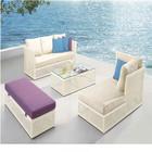 2015 venda quente novo Design Rattan pátio moderno hotel de mobiliário de piscina