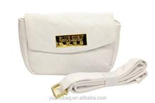 PU leather long strip fashion waterproof shoulder messenger bag
