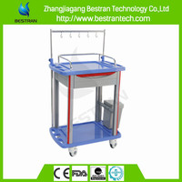 BT-IY014 Medical Moving carts with 4 wheel