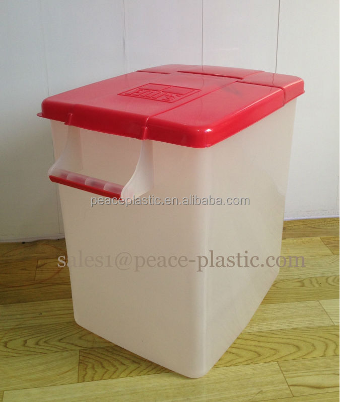 New Hill's Plastic Pet Food Bin Container 40Lbs With Lid and Handle